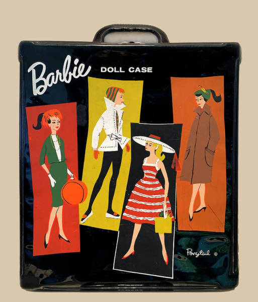 Photograph - Vintage Barbie Doll Case by Marilyn Hunt