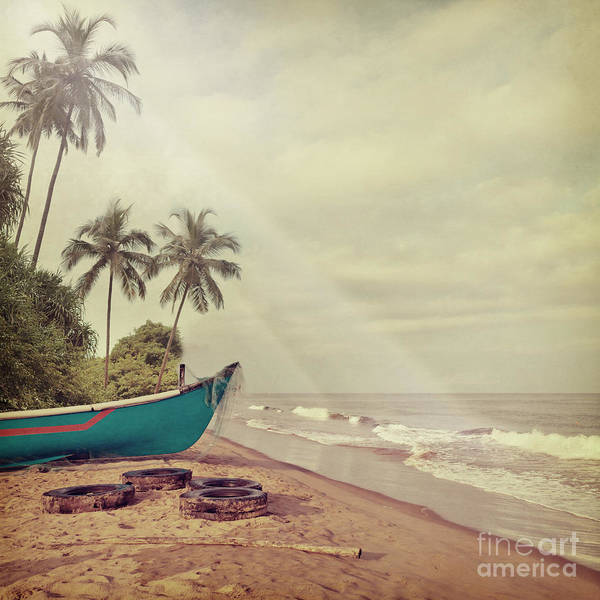 Wall Art - Photograph - Vintage Beach Background by Sundari