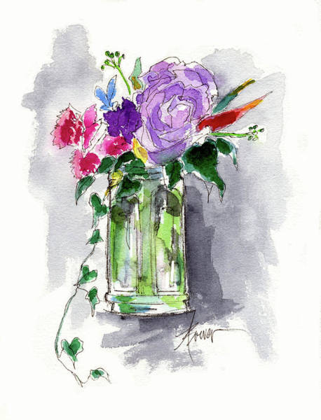 Painting - Vintage Beauty by Adele Bower