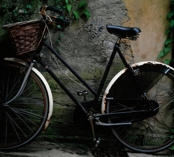 Bicycle Photograph - Vintage Bicycle by Terry Mccormick