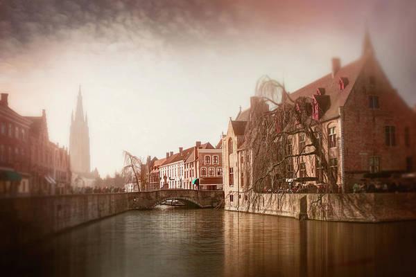 Wall Art - Photograph - Vintage Bruges Belgium  by Carol Japp