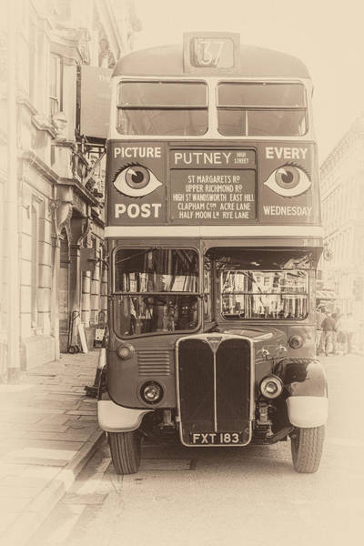 Photograph - Vintage Bus by Steve Purnell
