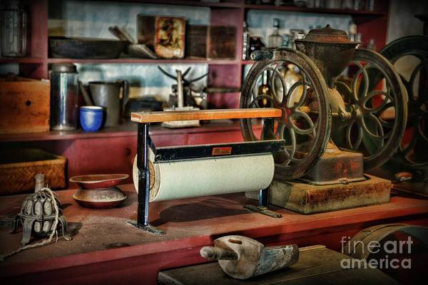 Wall Art - Photograph - Vintage Butcher Paper Dispenser And More by Paul Ward