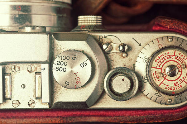 Dust Photograph - Vintage Camera by Shaunl