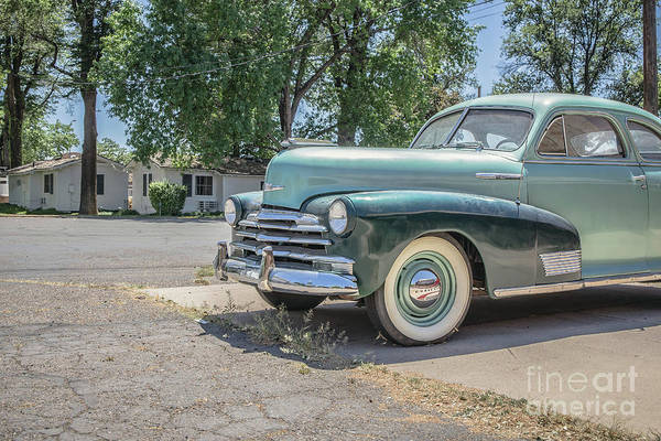 Wall Art - Photograph - Vintage Car Chevy Fleetmaster by Edward Fielding