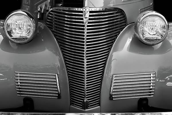 Photograph - Vintage Chevy Coupe by Chris Buff