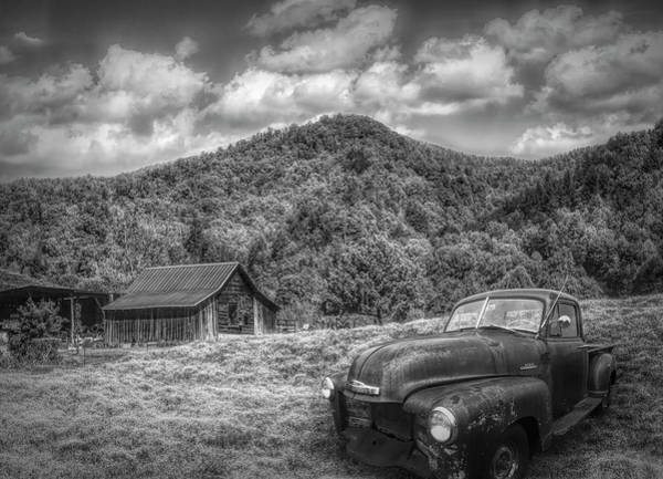 Photograph - Vintage Chevy Under Morning Skies by Debra and Dave Vanderlaan