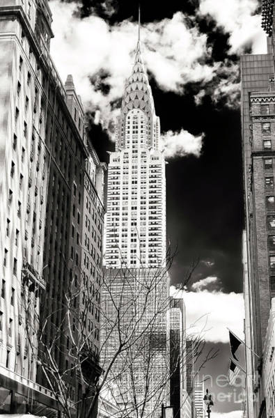 Photograph - Vintage Chrysler Building 2006 New York City by John Rizzuto