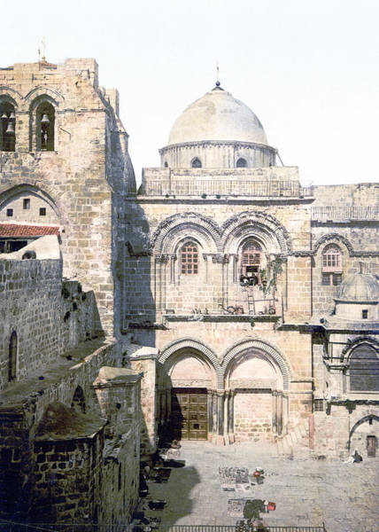 Wall Art - Photograph - Vintage Church Of The Holy Sepulchre by Munir Alawi