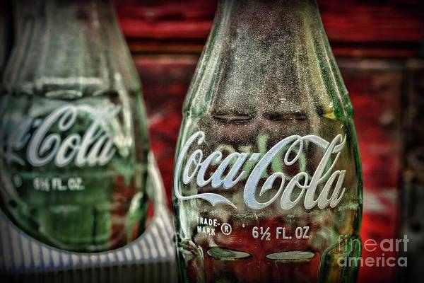 Wall Art - Photograph - Vintage Delicious Coca-cola Bottle by Paul Ward