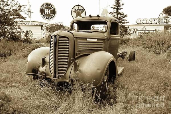 Wall Art - Photograph - Vintage Diamond T Pickup  by Debbie Green