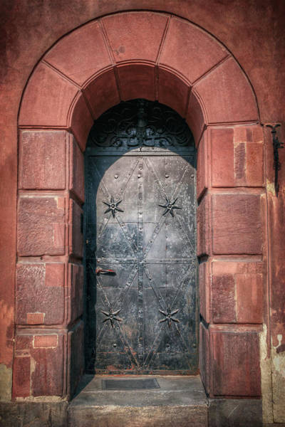Wall Art - Photograph - Vintage Door Warsaw Poland by Carol Japp