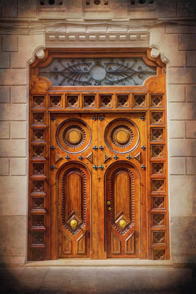 Wall Art - Photograph - Vintage Doors Of Old Valencia Spain  by Carol Japp