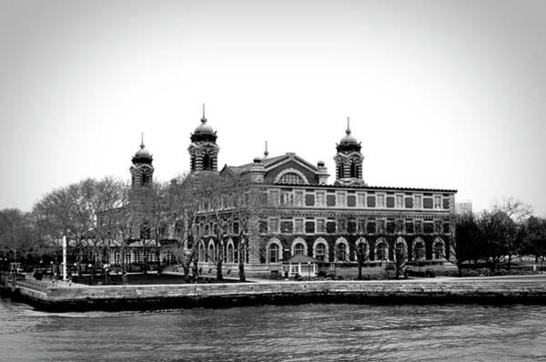 Photograph - Vintage Ellis Island by Doc Braham