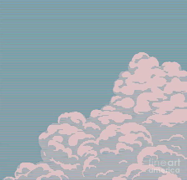 Fluffy Wall Art - Digital Art - Vintage Engraving Cloud by Art-generator