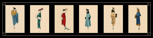 Wall Art - Photograph - Vintage Fashion Montage 2 by Andrew Fare