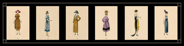 Wall Art - Photograph - Vintage Fashion Montage 3 by Andrew Fare