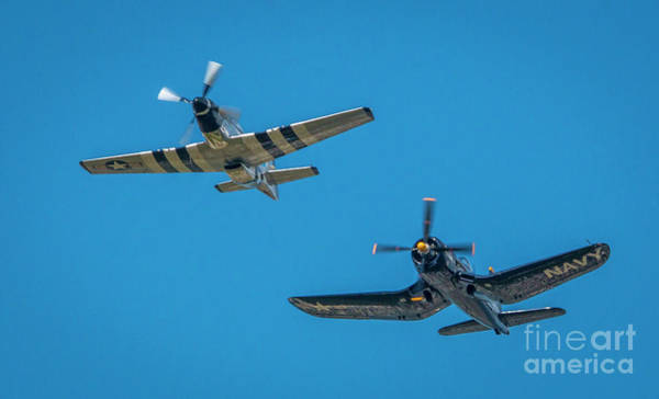 Photograph - Vintage Fighters by Tom Claud