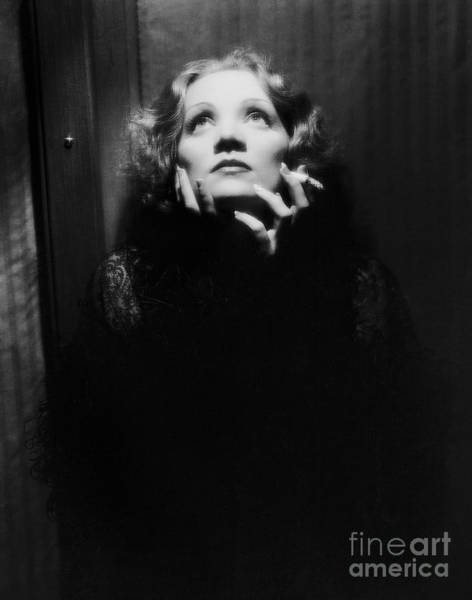 Leading Actress Wall Art - Photograph - Vintage Film Still Depicting Marlene Dietrich In Shanghai Express, 1932 by European School