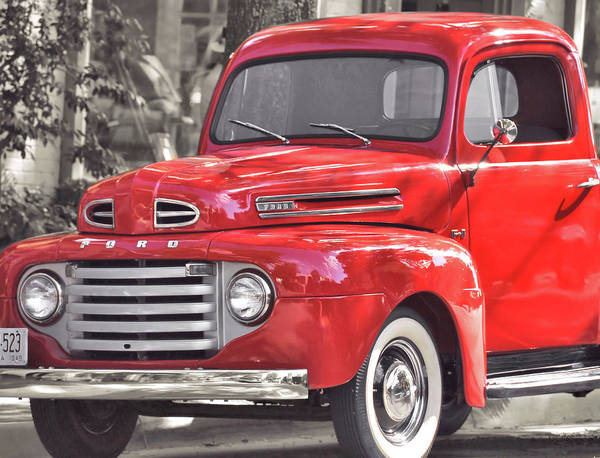Photograph - Vintage Ford by JAMART Photography