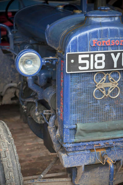 Wall Art - Photograph - Vintage Fordson Model N Tractor by Richard Nixon