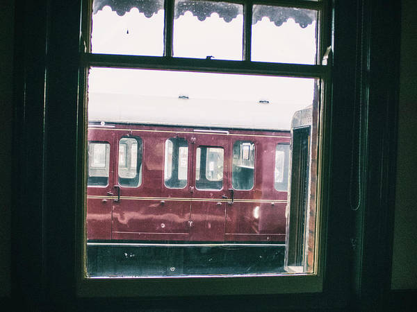 Railway Station Photograph - Vintage Journeys by Martin Newman