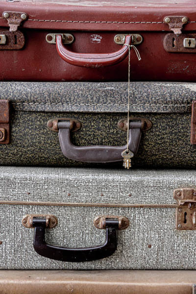 Photograph - Vintage Luggage Bags by Scott Lyons
