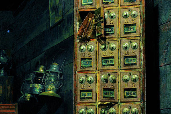 Wall Art - Photograph - Vintage Mailboxes by Mike Flynn