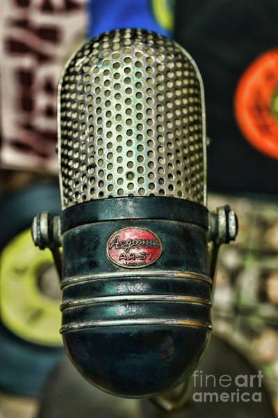 Wall Art - Photograph - Vintage Microphone Argonne Ar 57 by Paul Ward