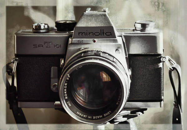 Photograph - Vintage Minolta by JAMART Photography