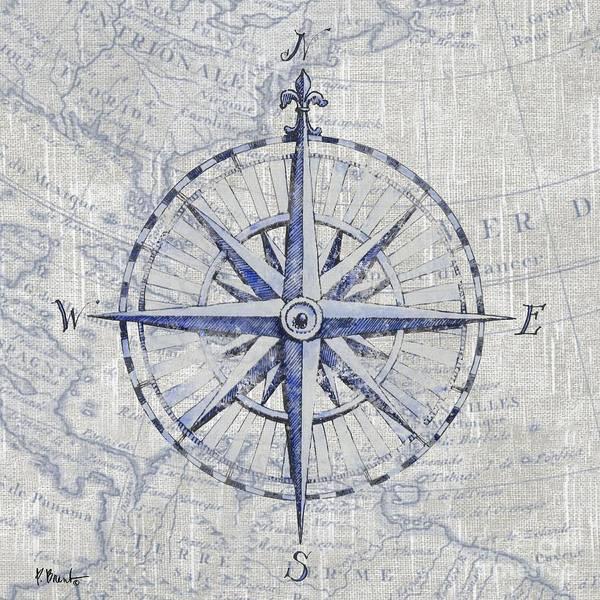 Wall Art - Painting - Vintage Nautical II by Paul Brent