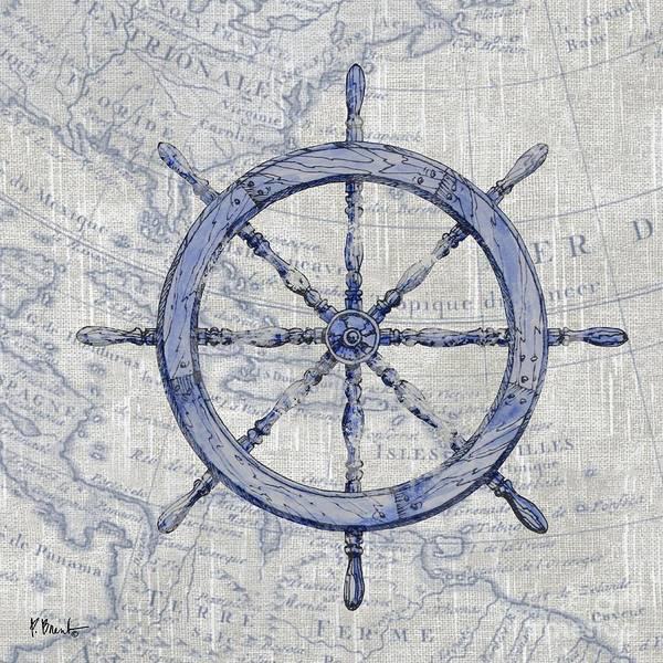Wall Art - Painting - Vintage Nautical IIi by Paul Brent