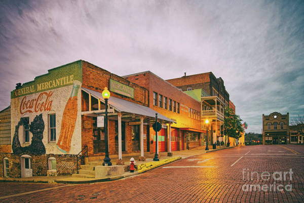 Wall Art - Photograph - Vintage Photograph Of General Mercantile And Oldtime Spring Shop In Downtown Nacogdoches - Texas  by Silvio Ligutti