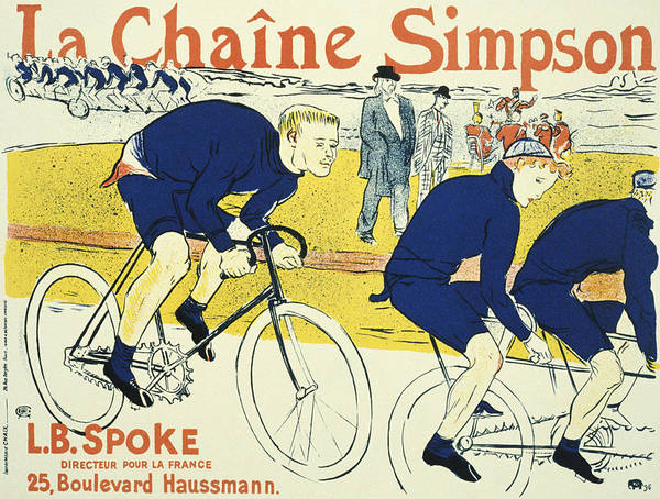 Screenprinting Painting - Vintage Poster - La Chaine Simpson by Vintage Images
