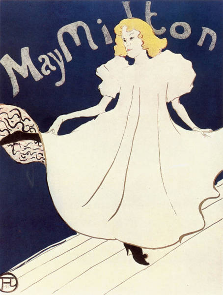 Screenprinting Painting - Vintage Poster - May Milton by Vintage Images