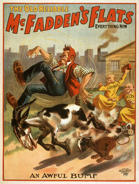 Screenprinting Painting - Vintage Poster - Mcfadden's Flats by Vintage Images