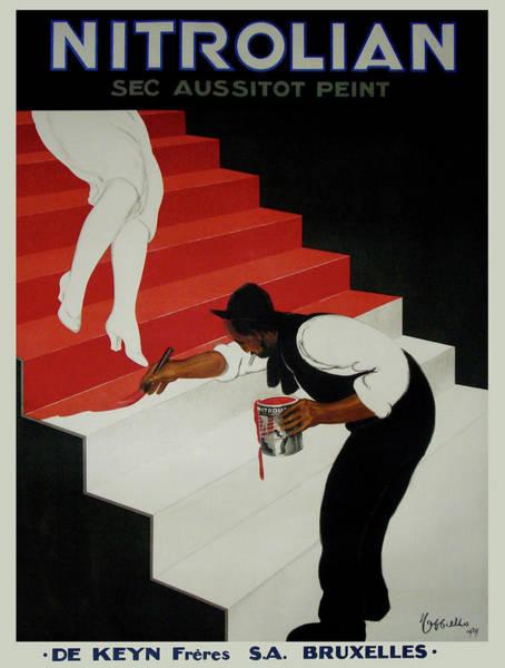 Screenprinting Painting - Vintage Poster - Nirolilan by Vintage Images