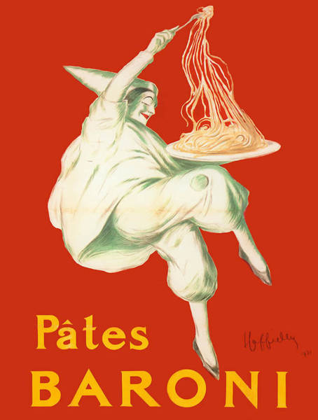 Screenprinting Painting - Vintage Poster - Pates Baroni by Vintage Images