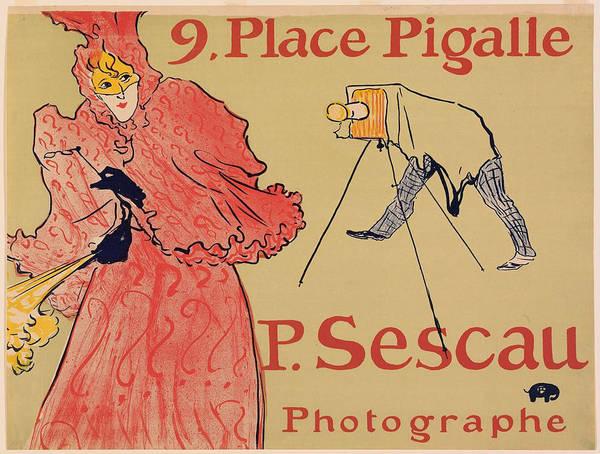 Screenprinting Painting - Vintage Poster - Photagrapher Sescau by Vintage Images