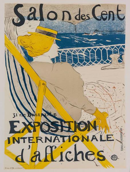 Screenprinting Painting - Vintage Poster - Salon Des Cent by Vintage Images