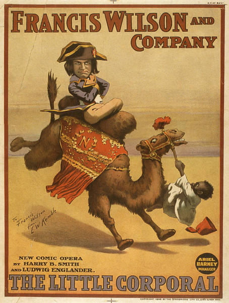 Screenprinting Painting - Vintage Poster - The Little Corporal by Vintage Images