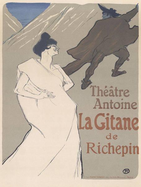 Screenprinting Painting - Vintage Poster - Theatre Antoine by Vintage Images