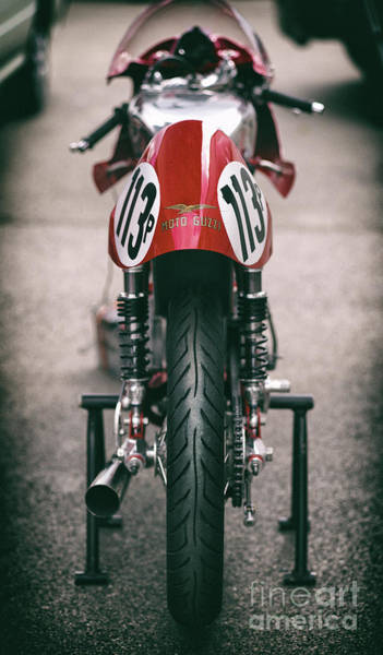 Wall Art - Photograph - Vintage Racing Moto Guzzi by Tim Gainey