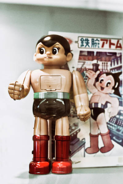 Made In Japan Wall Art - Photograph - Vintage Robot Astro Boy by Benjamin Dupont