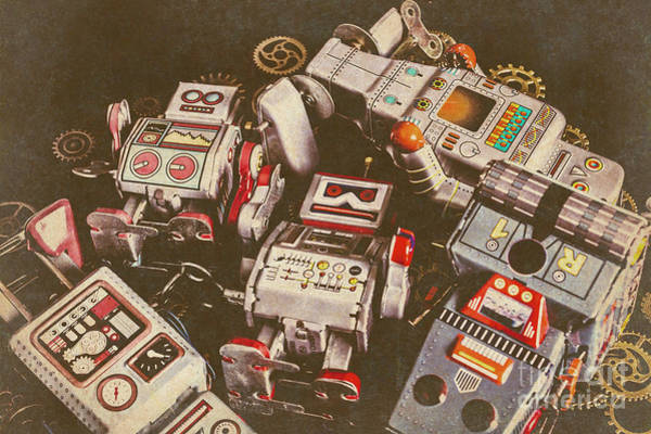 Wall Art - Photograph - Vintage Robotronics by Jorgo Photography - Wall Art Gallery