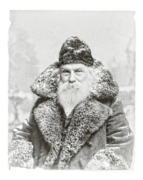 Vintage Santa Claus 10 Art Print