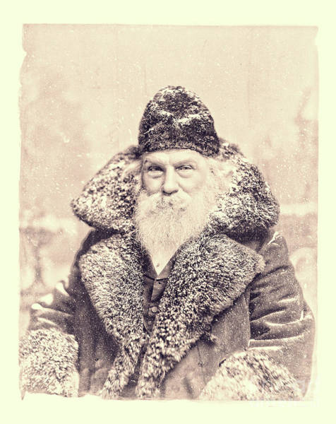 Wall Art - Photograph - Vintage Santa Claus Portrait 11 by Edward Fielding