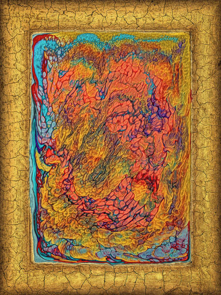 Digital Art - Vintage Streams Of Consciousness by Becky Titus