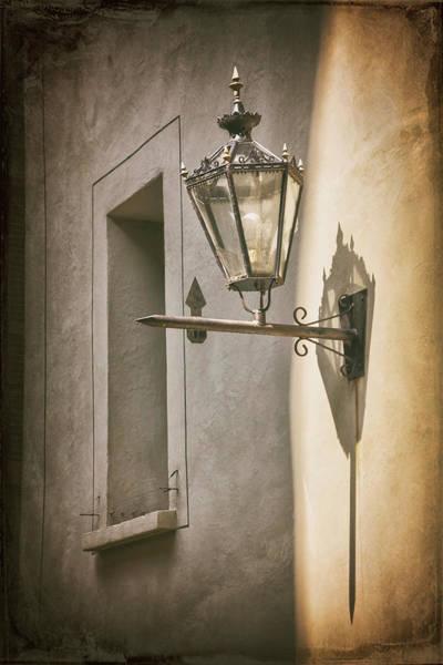 Wall Art - Photograph - Vintage Street Lamp And Window Geneva Switzerland by Carol Japp