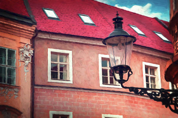 Bratislava Photograph - Vintage Street Lamp Bratislava Slovakia by Carol Japp